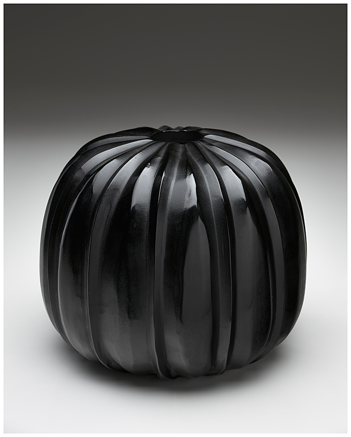 Black carved 2013  18 x 21 cm